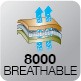BREATHABLE 8000